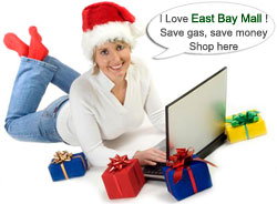 East Bay online shopping malls and bay area stores